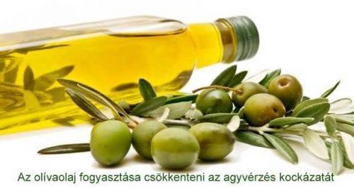olívaolaj visszér