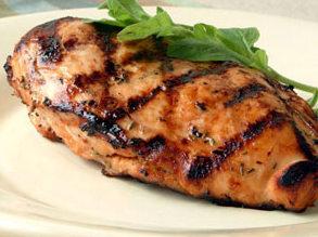 grillezett csirkehús fokhagymával