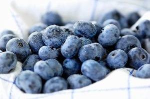 Agyserkentő bogyós gyümölcsök