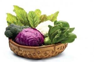 A szulforafánt (Sulforaphane) a keresztes virágú zöldségek tartalmazzák.
