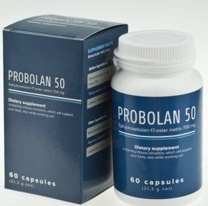 Probolan 50 izomnövelő