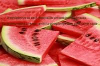 A görögdinnye az egyik legerősebb antioxidánst tartalmazza. Ez az antioxidáns a likopin, amitől a görögdinnye húsa piros színét kapja.