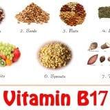 B-17 vitamin természetes forrásai