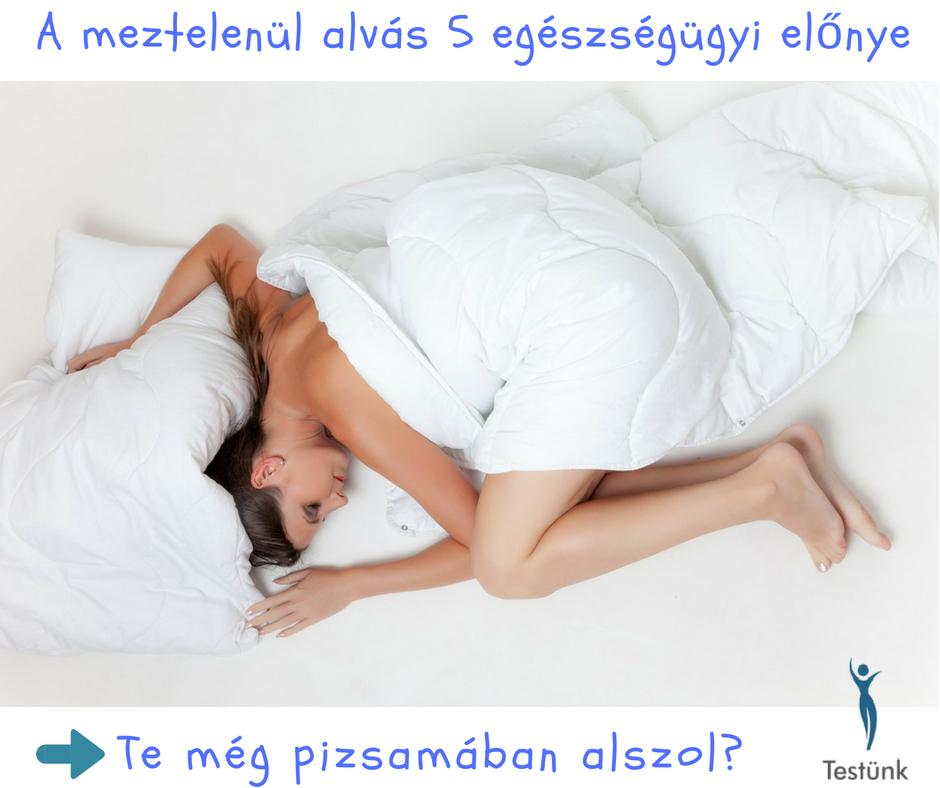 A meztelenül alvás 5 egészségügyi előnye