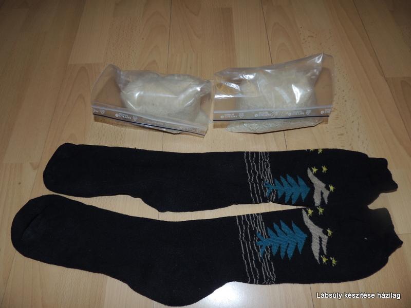 Nyers rizs, szárazbab, homokkal vagy apró kaviccsal töltött zárható zacskó