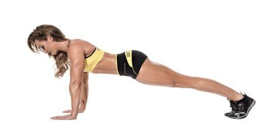 Fekvőtámasz, Plank kitartás