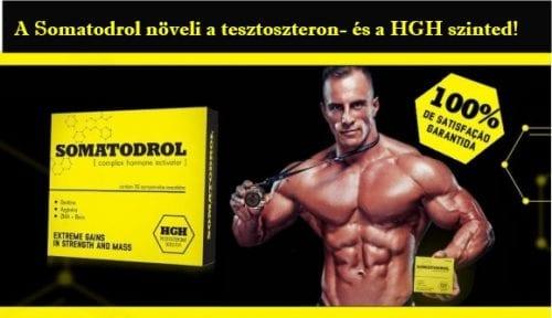 A Somatodrol növeli a tesztoszteron- és a HGH szinted progressive