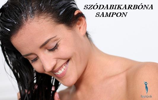 szodabikarbona-sampon, szódabikarbóna hajra