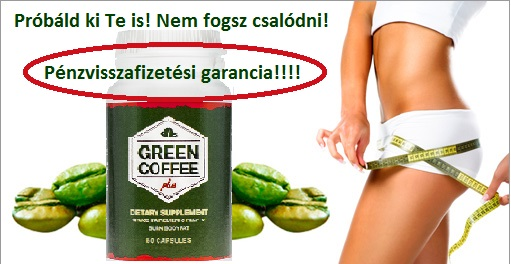 Green Coffee Extract pénzvissza