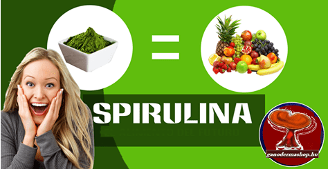 Spirulinát keresd a http://ganodermashop.hu/ oldalon