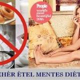 Feher étel mentes diéta