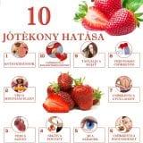Az eper 10 jótékony hatása