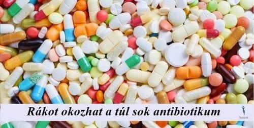 antibiotikumok hatása