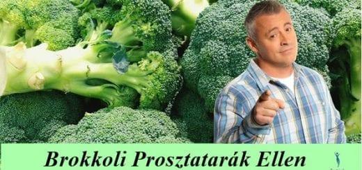 BROKKOLI PROSZTATARÁK ELLEN