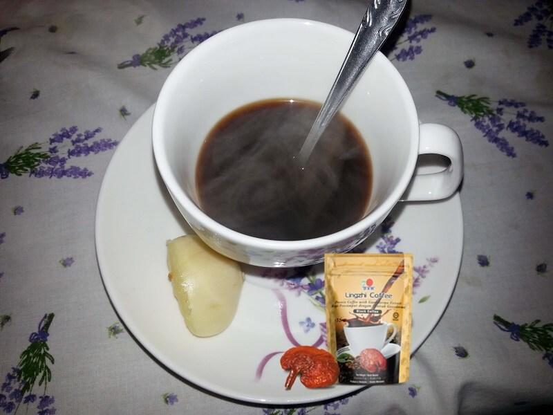 Kávé fokhagymával ( lingzhi black coffee)
