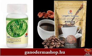 Ganodermás Kávék étrendkiegészítők